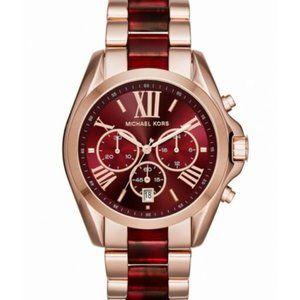 MK Rose Gold Bradshaw Watch! Brand New!